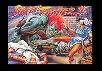 Original Snes Capcom Us Street Fighter 2 Poster (Tough Street Fight Between Chun Li, Blanka, Ryu) By O S P Publishing.jpg