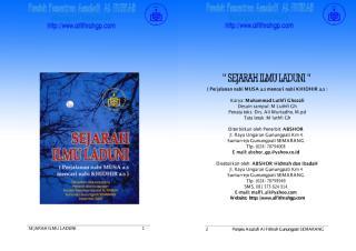 Sejarah Ilmu Laduni Perjalanan Musa Mencari Khidir M Luthfi Ghazali.pdf