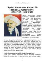 (wafat 1227h) syeikh muhammad arsyad al-banjari.pdf