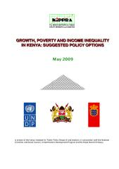 Grouth, development and inequality in Kenya.pdf