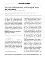 Huang_Gromiha_2010_First insight into the prediction of protein folding rate change upon point.pdf