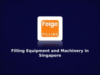 Filling Equipment And Machinery.ppt