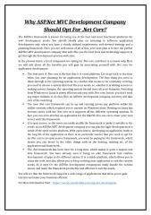 Why ASP.Net MVC Development Company Should Opt For .Net Core.doc