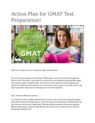Action Plan for GMAT Test Preparation.docx