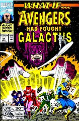 what if... the avengers had fought galactus.cbr