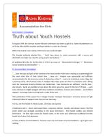 Truth about Youth Hostels.doc