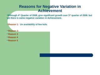 1Q,09,Reasons Action Plan Slides.ppt