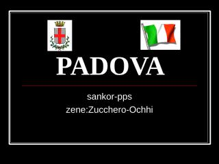 PADOVA(sankor).pps