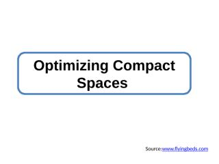 Optimizing Compact Spaces.pptx