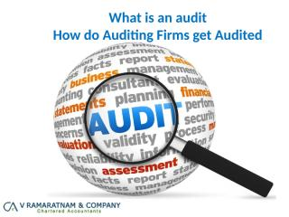 How do Auditing Firms get Audited.pptx